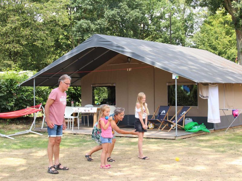 6pers ingerichte Brabant tent Molecaten Park Bosbad Hoeven - 07