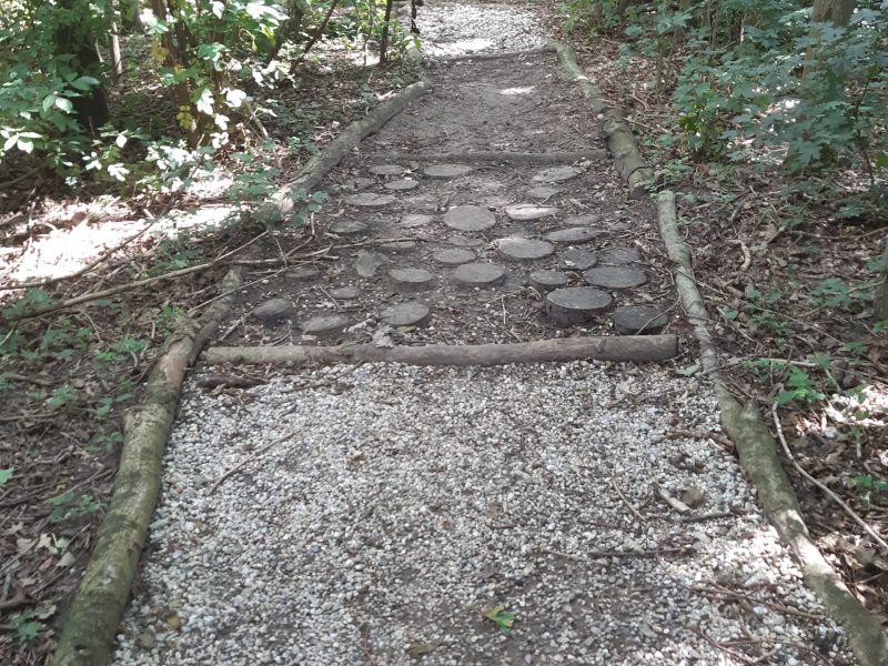 Blotenvoeten pad - Sabrina Matthijssen 2020